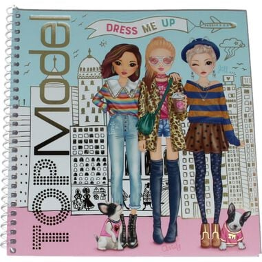 TOPModel Dress Me Up Stickerbook