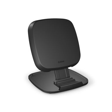 ZENS Fast Wireless Charger Stand Base 10W Black