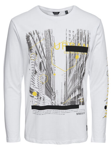 ONLY & SONS T-shirt Lange mouw