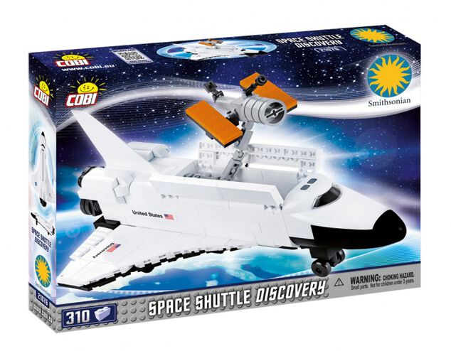 Cobi Smithsonian Space Shuttle Discovery bouwset (21076)