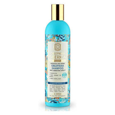 Natura Siberica Oblepikha Shampoo For Weak And Damaged Hair 400ml.