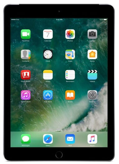 iPad (2018) 32GB Wifi Only Space Gray C