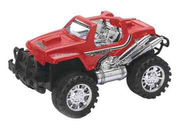 Diakakis Jeep 4x4 powerracing rood 23 cm