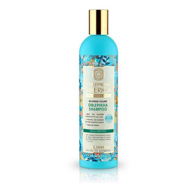 Natura Siberica Oblepikha Maximum Volume Shampoo 400ml. ( All Hair Types )