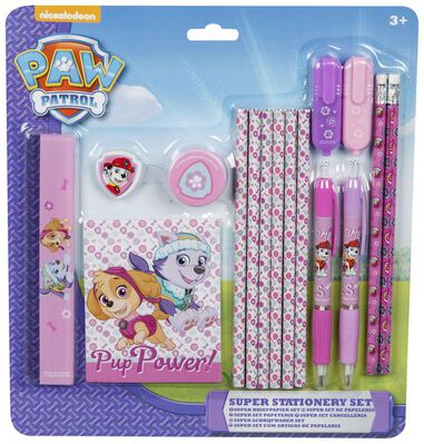Paw Patrol Girls Super Stationery Set