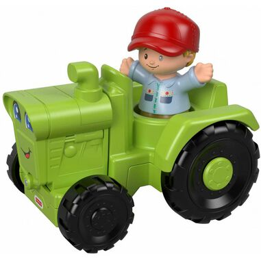 Fisher Price Little People Groene Tractor