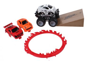 Jonotoys monstertruck met schans