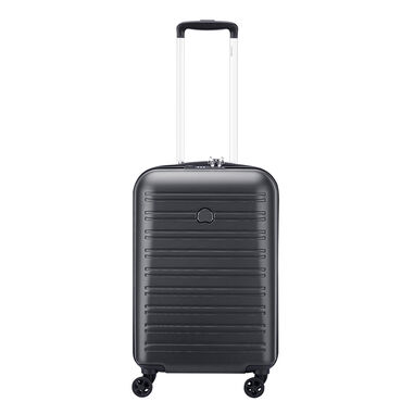 Delsey Segur 2.0 4 Wheels Cabin Trolley 55 black