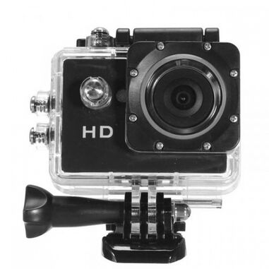 HD action-camera 720P waterdicht zwart