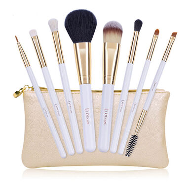 Dermarolling 8-Delige Make Up Kwasten Set Gold U802