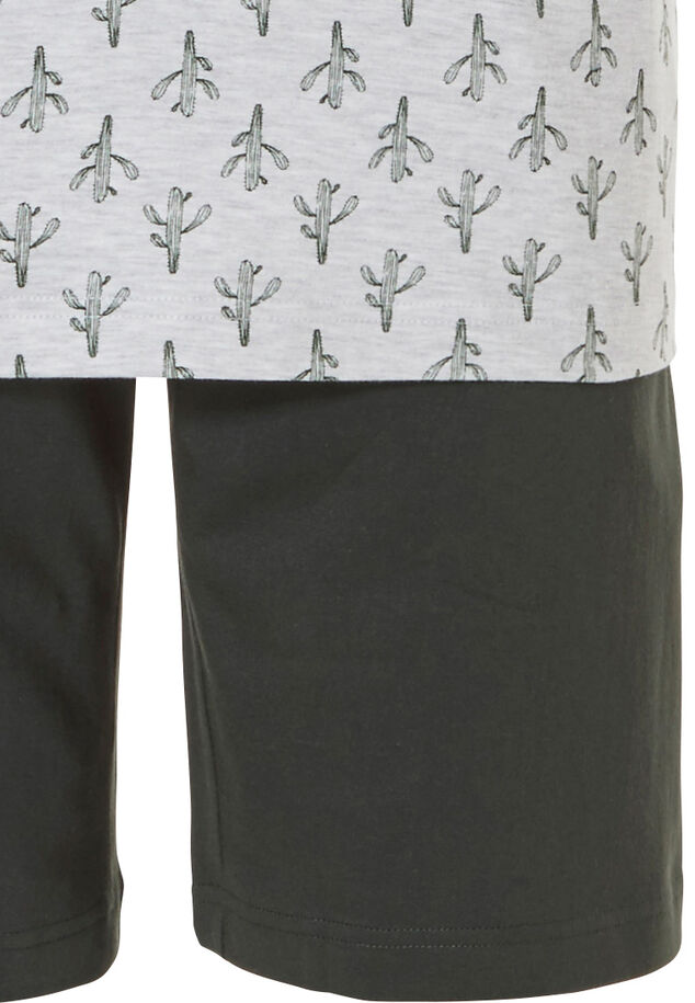 Heren shortama set 'crazy little cactus'