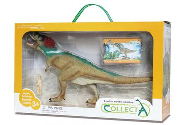 Collecta prehistorie: Tyrannosaurus Rex Deluxe Window Box 27 cm groen
