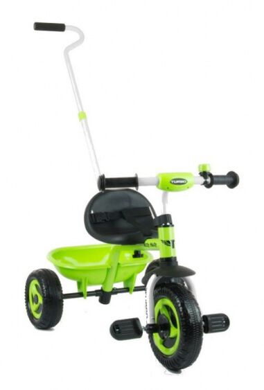 Turbo driewieler Junior Groen/Zwart