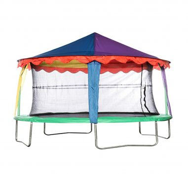 Jumpking trampoline Canopy circustent ovaal 2,13 x 3,05 meter