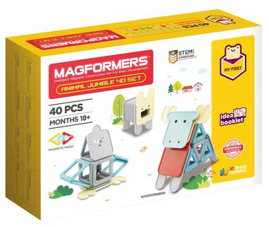 Magformers Animal Jumble set 40-delig