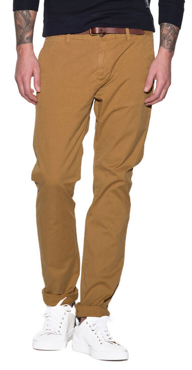 Scotch & Soda Stuart chino bruin