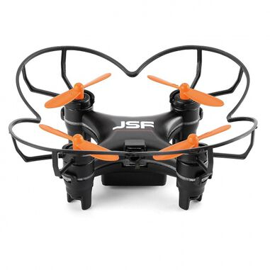 JSF miniquadcopter drone Stealth 4 zwart 6 cm