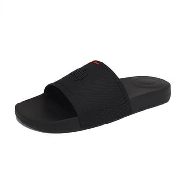 FitFlop Men iqushion pool slides all black