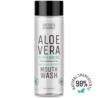 Pro Teeth Whitening Aloe Vera Natural Mouthwash 250ml.
