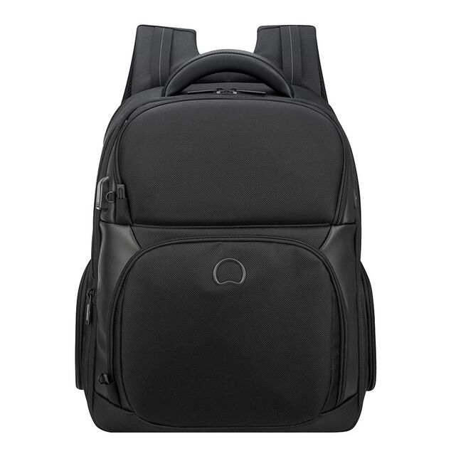 Delsey Quarterback Premium Two Compartments Backpack S black