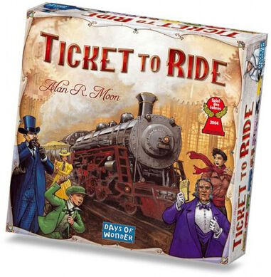 bordspel Ticket to Ride - USA