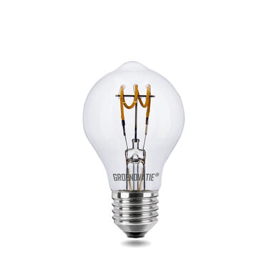 E27 LED Filament Lamp 3W Spiral Extra Warm Wit Dimbaar