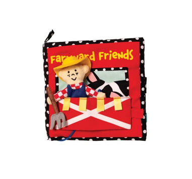 Manhattan Toy activiteitenboek Farmyard Friends textiel 17,8 cm (en)