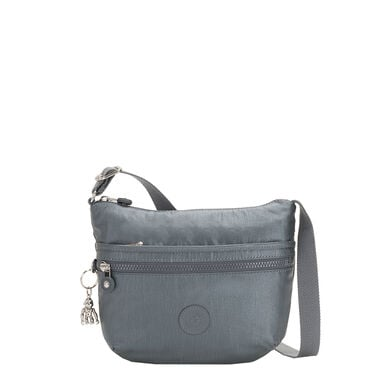 Kipling Arto S BP Schoudertas steel grey metal