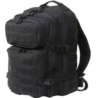 101 Inc Mountain backpack 45 liter US leger model - Zwart