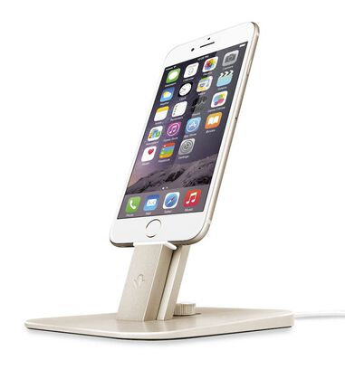 Twelve South HiRise Deluxe Gold for iPhone and iPad