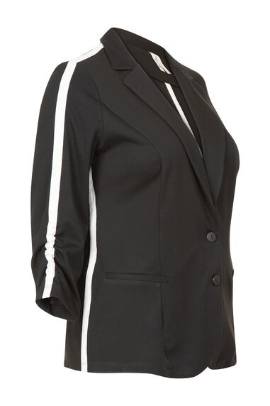 Miss Etam Dames Etam Plus - Blazer uni BLAZER PIPING