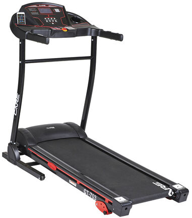 Care Fitness loopband Treadmill CT-703 staal 150 cm zwart