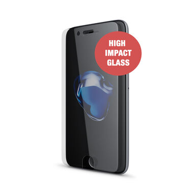 BeHello iPhone 8  7  6s  6 and iPhone SE Screenprotector Tempered Glass - High Impact Glass