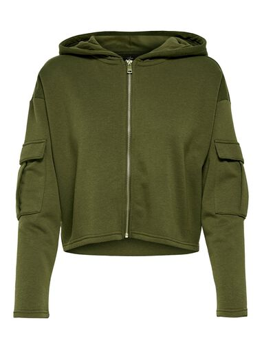 Only Hoodie Cropped