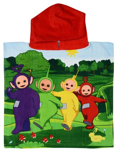 Teletubbies badponcho junior 50 x 100 cm