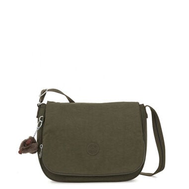 Kipling Earthbeat S Schoudertas Jaded Green C