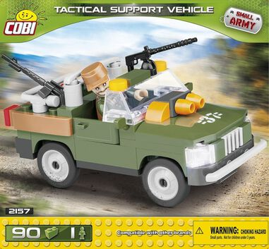 Cobi Small Army Tactical Support Vehicle bouwset 90-delig 2157