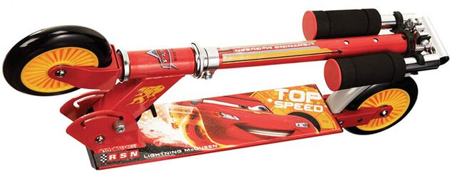 Cars 2-in-1 step Jongens Voetrem Rood