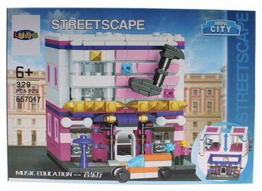 Luna Mini City Streetscape Music Education bouwset 329-delig (657017)