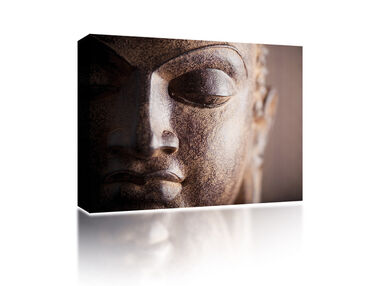 Canvas Budhha face