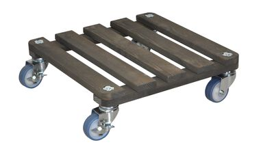Trolley antraciet 200kg 40x40 cm Wagner Nnice