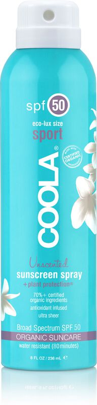 BODY SPORT CONTINUOUS SPRAY SPF50 UNSCENTED
