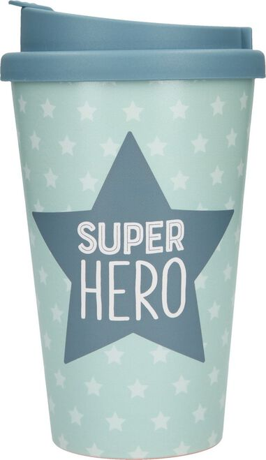 Depesche Drinkbeker To-Go Super Hero
