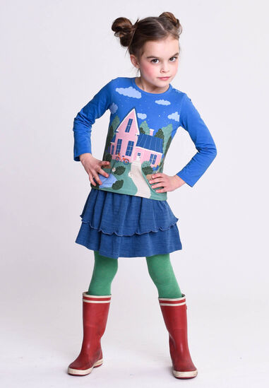 Oilily Tin t-shirt 54 with house panel