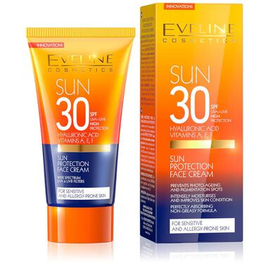 Eveline Cosmetics Sun Protection Face Cream SPF30 50ml.