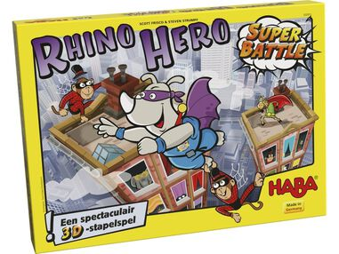 evenwichtsspel Rhino Hero - Super Battle (NL)