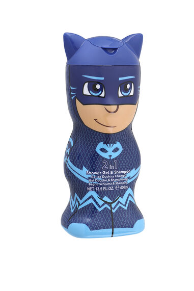 PJ Masks Shower Gel & Shampoo 2D 400 ml Catboy