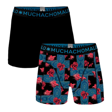 Muchachomalo 2-pack boys boxershorts agains the stream