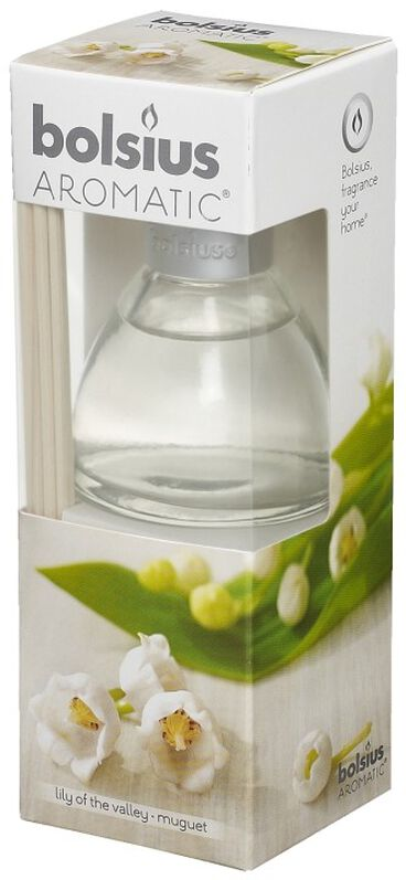 4 stuks Geur diffuser lily of the valley 45 ml