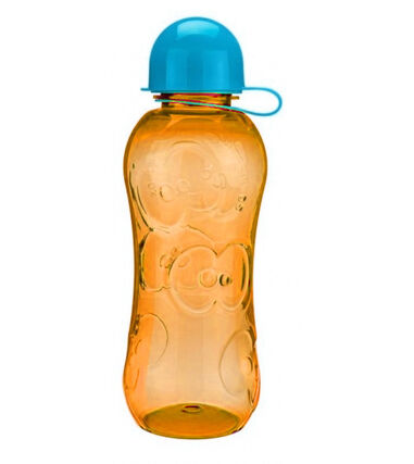 FruitFriends bidon junior 500 ml oranje/blauw